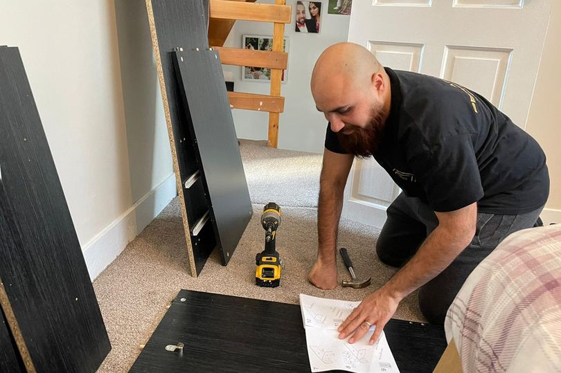 Man makes a fortune building other people's IKEA furniture – and has made 500 pieces