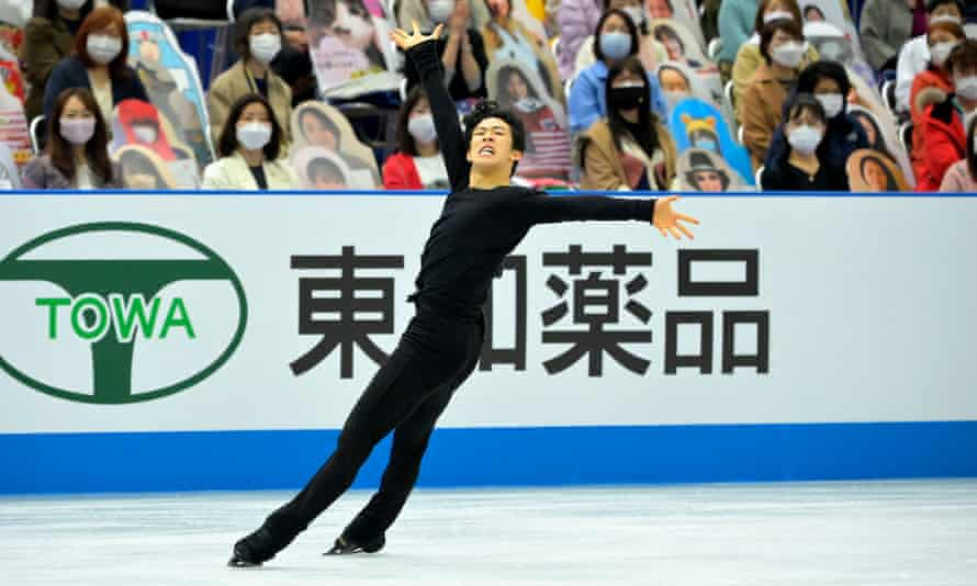 Nathan Chen tops Yuzuru Hanyu to win men's free skate at World Team Trophy